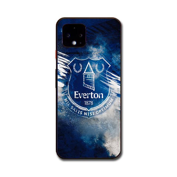 Blue Everton Splat Color Wallpaper Google Pixel 4 XL Case | Babycasee