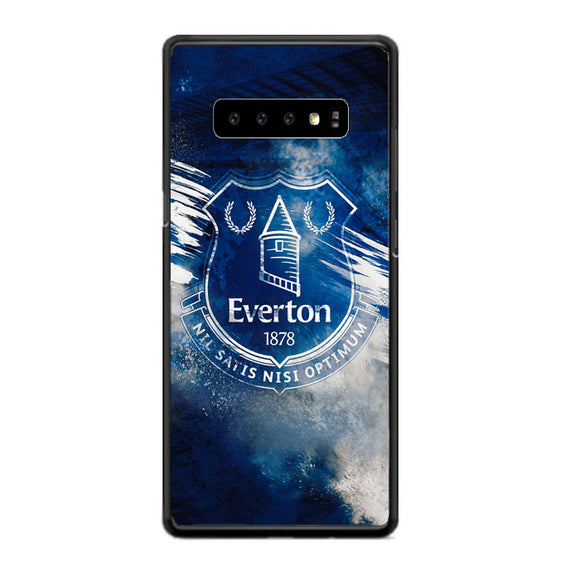Blue Everton Splat Color Wallpaper Samsung Galaxy S10 Plus Case | Babycasee