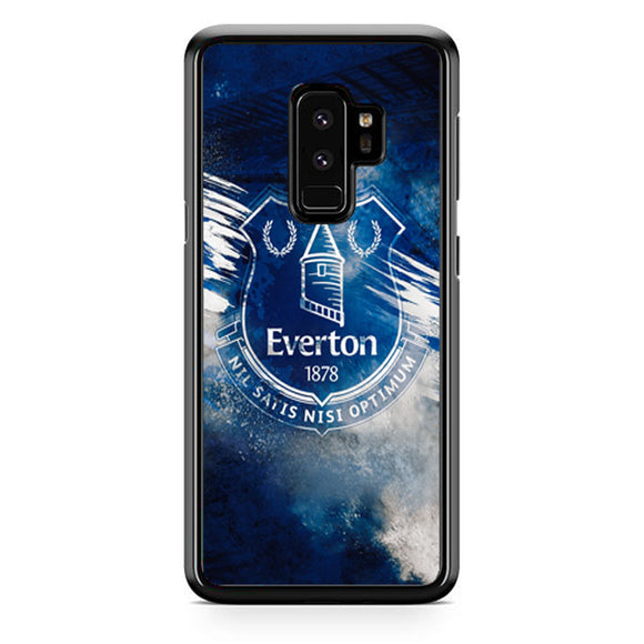 Blue Everton Splat Color Wallpaper Samsung Galaxy S9 Plus Case | Babycasee