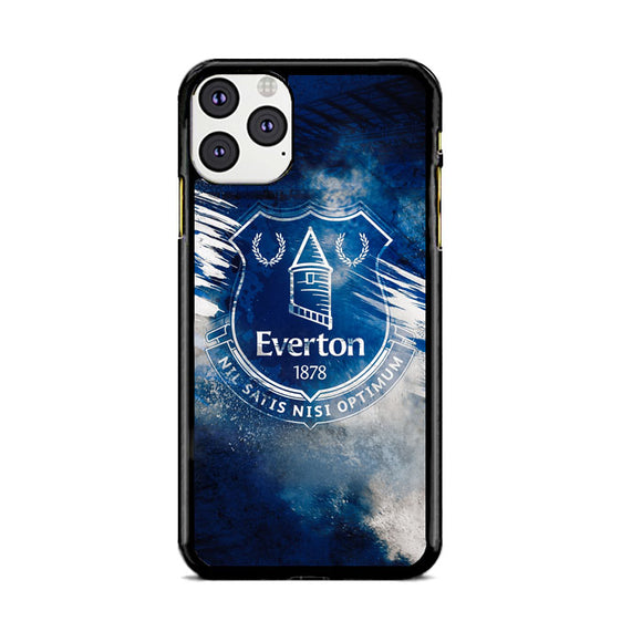 Blue Everton Splat Color Wallpaper iPhone 11 Pro Max Case | Babycasee
