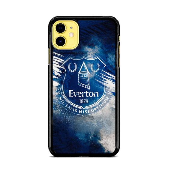 Blue Everton Splat Color Wallpaper iPhone 11 Case | Babycasee