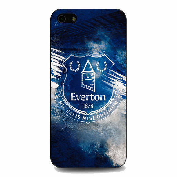 Blue Everton Splat Color Wallpaper iPhone 5|5S|SE Case | Babycasee