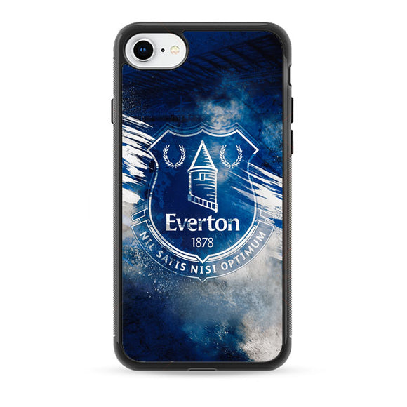 Blue Everton Splat Color Wallpaper iPhone 8 Case | Babycasee