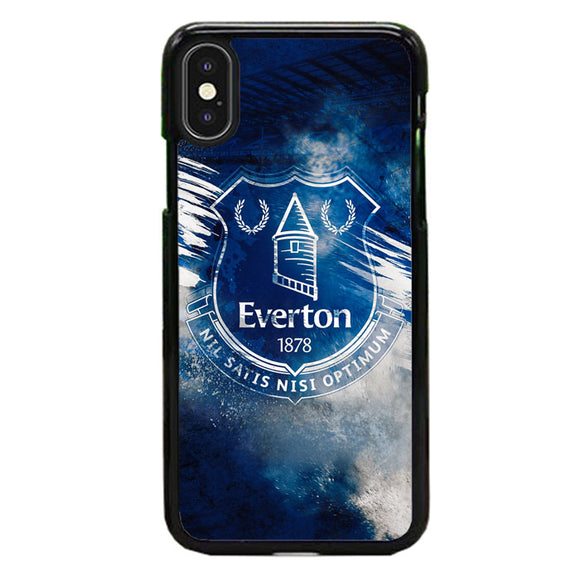 Blue Everton Splat Color Wallpaper iPhone XS Case | Babycasee