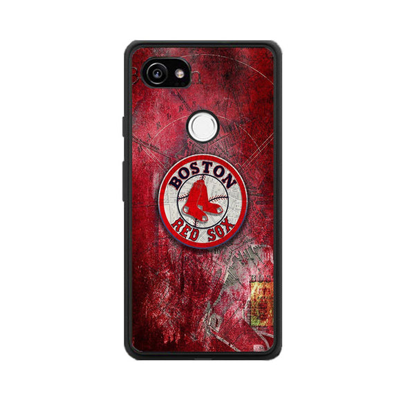 Boston Red Sox Red Wallpaper Google Pixel 2 Case | Babycasee