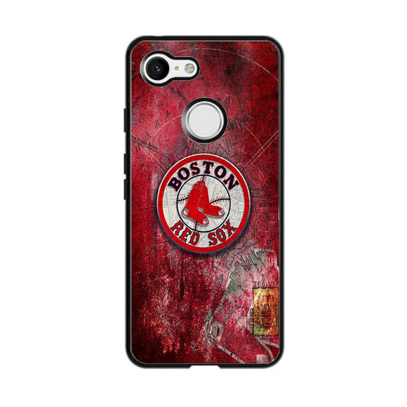 Boston Red Sox Red Wallpaper Google Pixel 3 Case | Babycasee