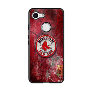 Boston Red Sox Red Wallpaper Google Pixel 3 XL Case | Babycasee