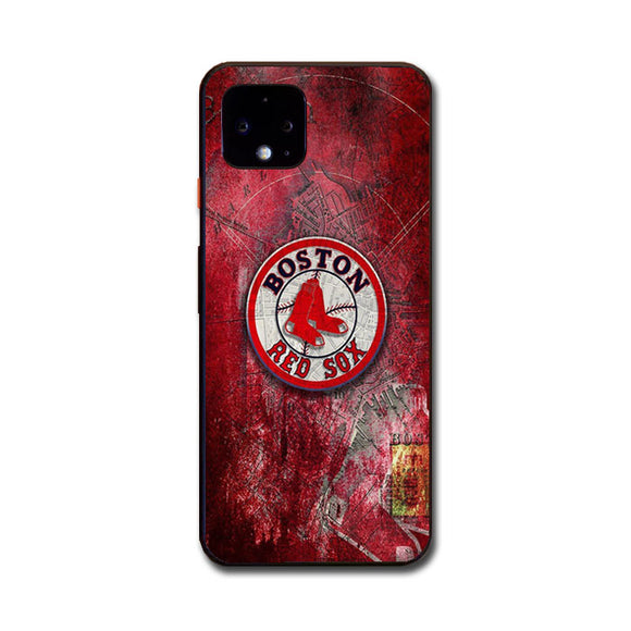 Boston Red Sox Red Wallpaper Google Pixel 4 XL Case | Babycasee