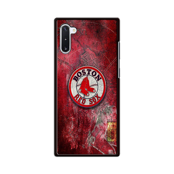 Boston Red Sox Red Wallpaper Samsung Galaxy Note 10 Case | Babycasee