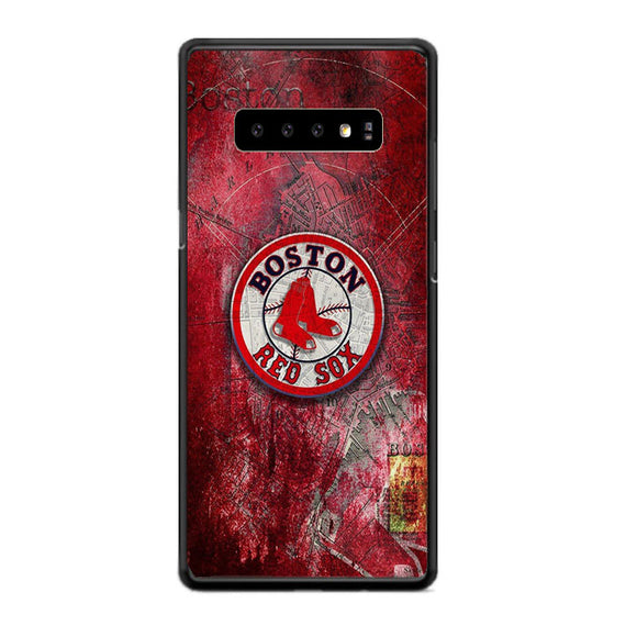 Boston Red Sox Red Wallpaper Samsung Galaxy S10 Plus Case | Babycasee