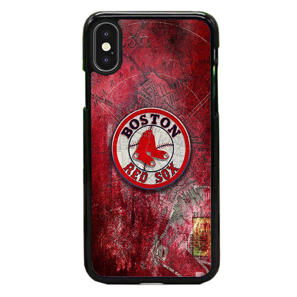 Boston Red Sox Red Wallpaper iPhone XS Case | Babycasee