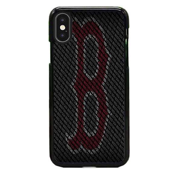 Boston Red Sox Typhograph Wallpaper iPhone X Case | Babycasee