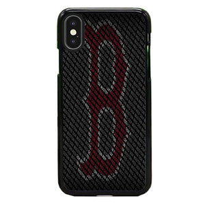 Boston Red Sox Typhograph Wallpaper iPhone XS Case | Babycasee