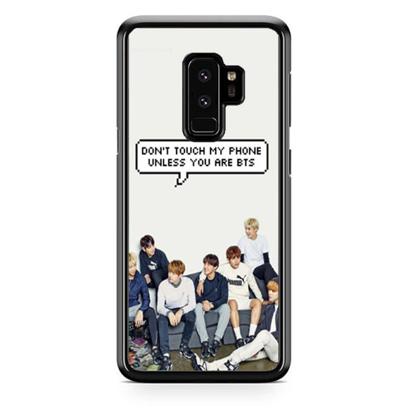 Bts Dont Touch Samsung Galaxy S9 Plus Case | Babycase