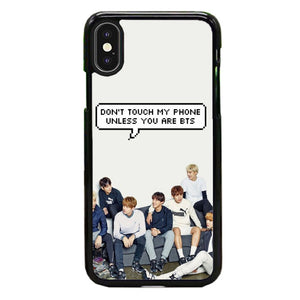 Bts Dont Touch iPhone XS Max Case | Babycase