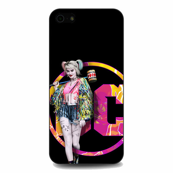 Dc Bop Birds Of Prey Harley Quinn iPhone 5|5S|SE Case | Babycasee