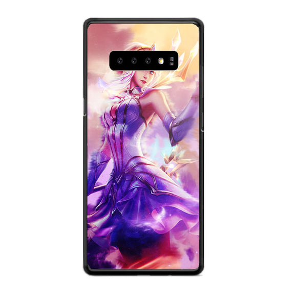 Elementalist Lux Light Lol Wallpaper Samsung Galaxy S10 Plus Case | Babycasee