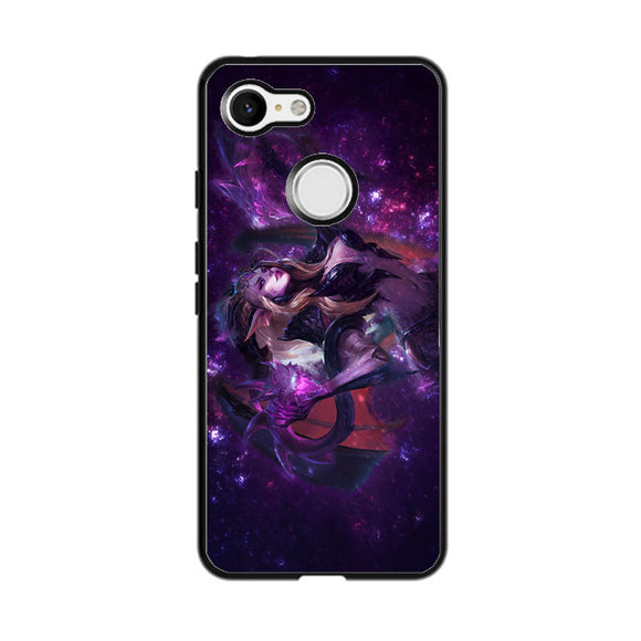 Galaxy Dragon Sorceress Zyra League Of Legends Google Pixel 3 Case | Babycasee