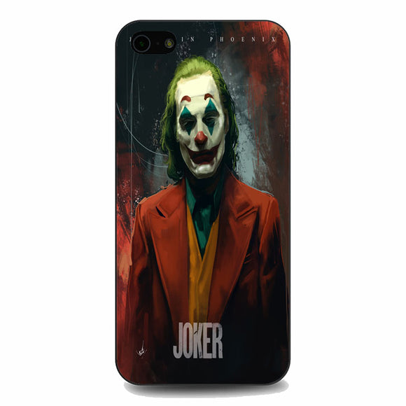 Joaquin Phoenix Joker Movie iPhone 5|5S|SE Case | Babycasee