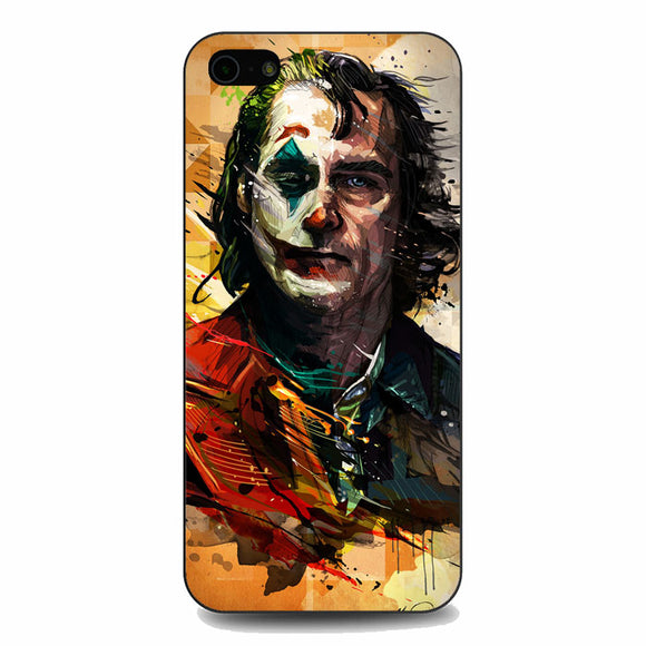 Joaquin Phoenix Joker Movie On Behance iPhone 5|5S|SE Case | Babycasee