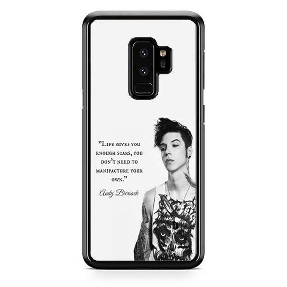 Andy Biersack Quotes Samsung Galaxy S9 Plus| Babycasee
