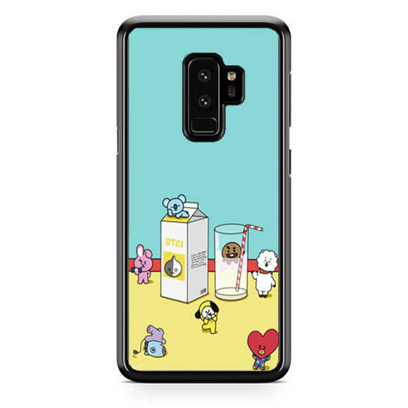 Bt21 Drink Milk Samsung Galaxy S9 Plus| Babycasee
