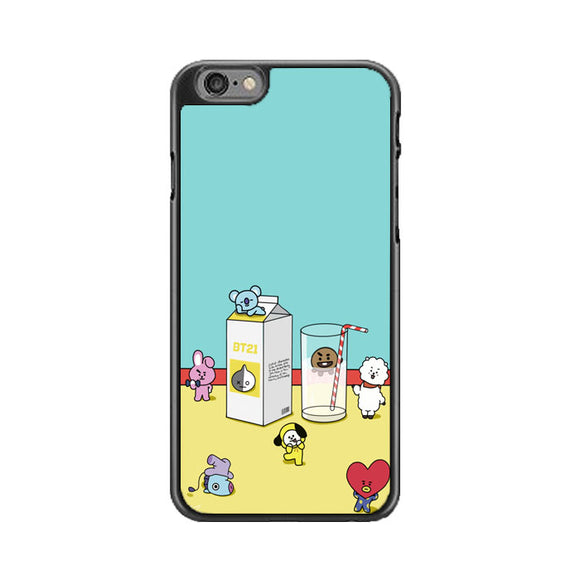 Bt21 Drink Milk iPhone 6|6S Case | Babycasee