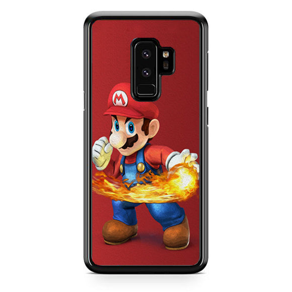Super Mario Power Fireball Samsung Galaxy S9 Plus| Babycasee