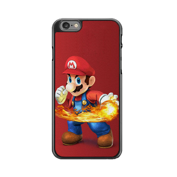 Super Mario Power Fireball iPhone 6|6S Case | Babycasee