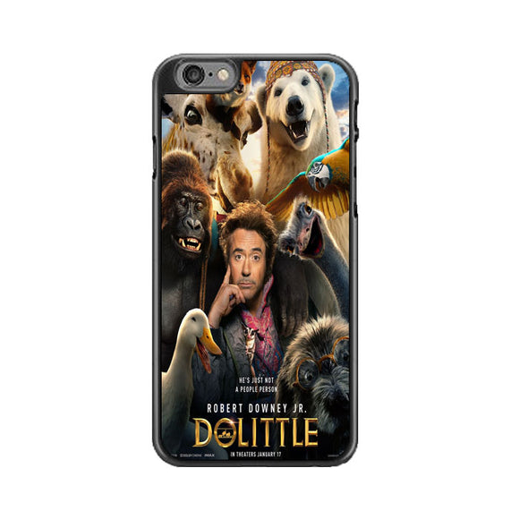 Dolittle Robert Downey Jr Movie Poster iPhone 6|6S Case | Babycasee