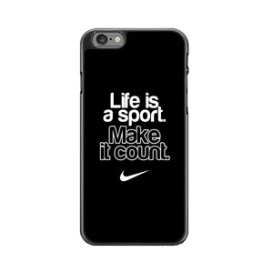 Life Is A Sport Make It Count iPhone 6|6S Case | Babycasee