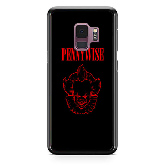 Pennywise The Clown Wallpaper Samsung Galaxy S9 Case | Babycasee