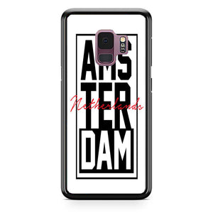 Amsterdam In The Netherlands Samsung Galaxy S9 Case | Babycasee