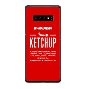 Fancy Ketchup Whataburger Samsung Galaxy S10e Case | Babycasee