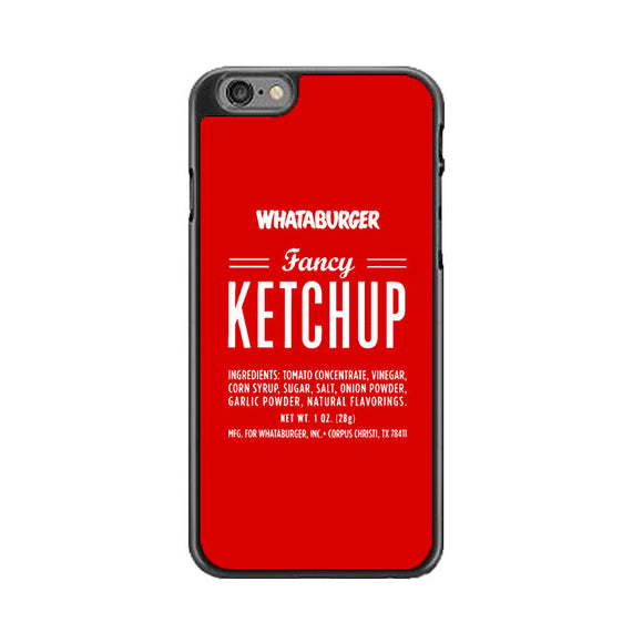 Fancy Ketchup Whataburger iPhone 6|6S Case | Babycasee