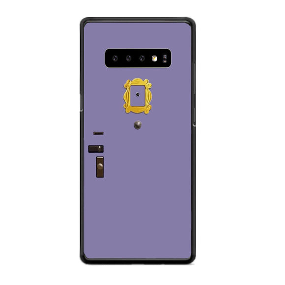 Friends Movie Purple Door Pipe Hole Samsung Galaxy S10 Case | Babycasee