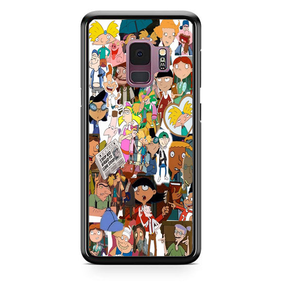 Hey Arnold Collage Samsung Galaxy S9 Case | Babycasee