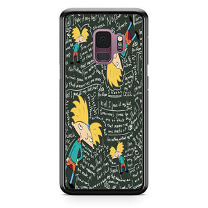 Hey Arnold Quotes Samsung Galaxy S9 Case | Babycasee