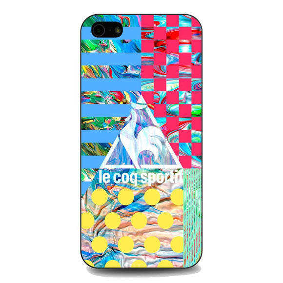Le Coq Sportif Wallpaper iPhone 5|5S|SE Case | Babycasee
