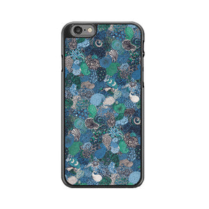 Le Coq Sportif X Liberty Art Fabrics Blue Pattern iPhone 6|6S Case | Babycasee
