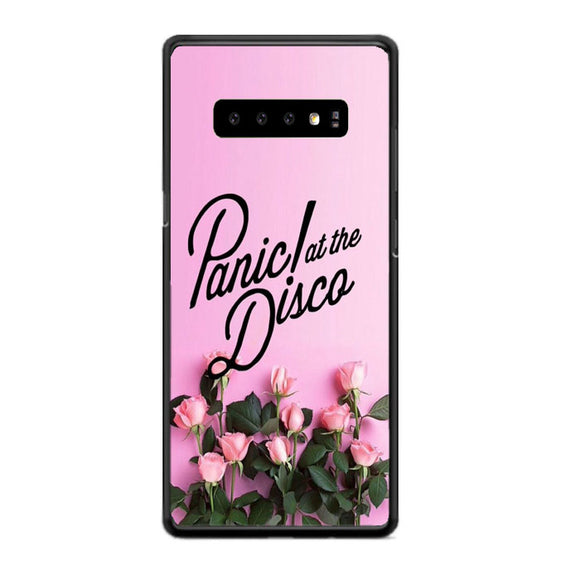 Panic At The Disco Pink Rose Flower Samsung Galaxy S10 Case | Babycasee