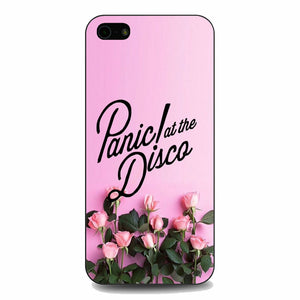 Panic At The Disco Pink Rose Flower iPhone 5|5S|SE Case | Babycasee