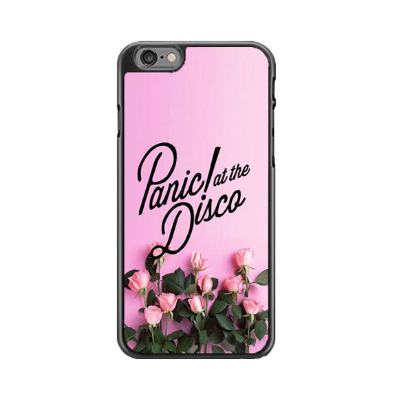 Panic At The Disco Pink Rose Flower iPhone 6 Plus|6S Plus Case | Babycasee