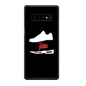Patta Shoes Silhouette Wallpaper Samsung Galaxy S10 Plus Case | Babycasee