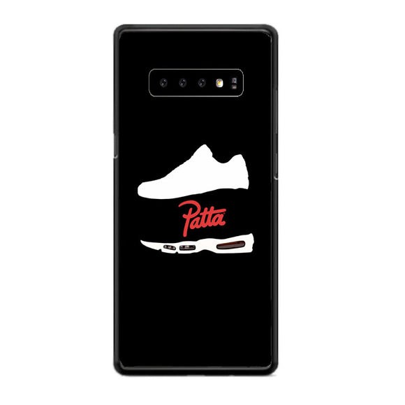 Patta Shoes Silhouette Wallpaper Samsung Galaxy S10 Case | Babycasee