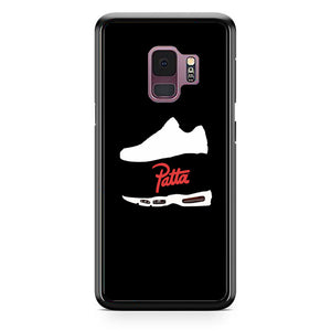 Patta Shoes Silhouette Wallpaper Samsung Galaxy S9 Case | Babycasee