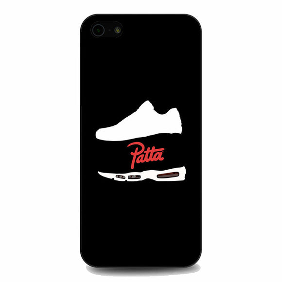 Patta Shoes Silhouette Wallpaper iPhone 5|5S|SE Case | Babycasee