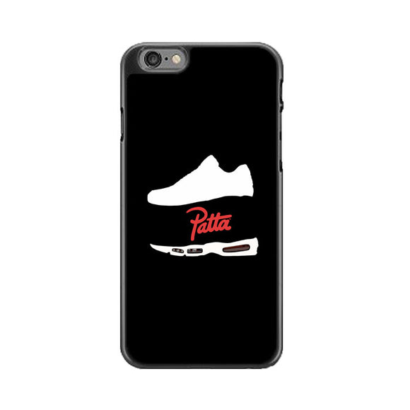 Patta Shoes Silhouette Wallpaper iPhone 6|6S Case | Babycasee