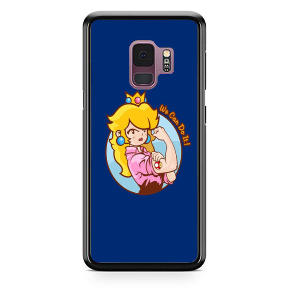 Princess Peach We Can Do It Samsung Galaxy S9 Case | Babycasee