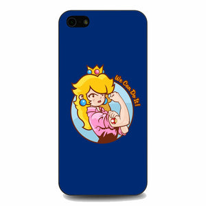 Princess Peach We Can Do It iPhone 5|5S|SE Case | Babycasee